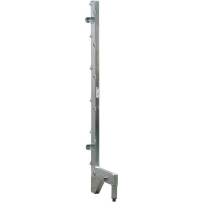 "New Age - Cantilever Rack Free Stand Right Upright for 18"" Shelf, 22"" L x 72.75 ' H, Aluminum"