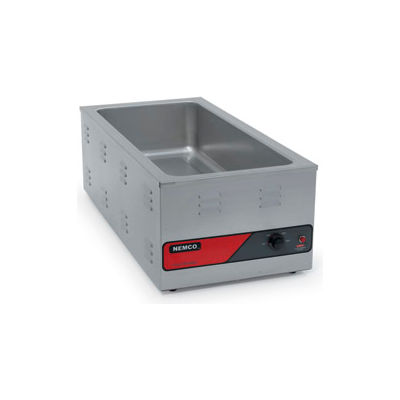 Nemco 6055A-43 - Countertop Warmer, Holds 4 -1/3 Size Pans