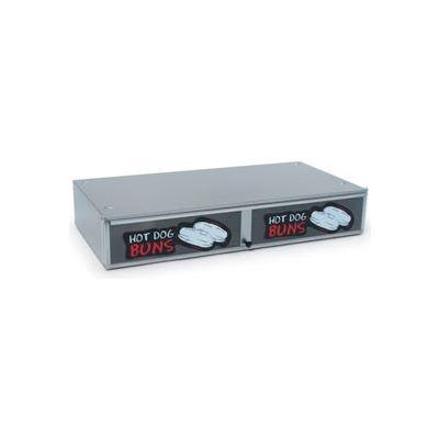 NEMCO® 8045N-SBB, Bun Box, Stainless Steel With Polycarbonate Door, 64 Buns