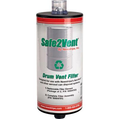 Newstripe Safe2Vent™ Complete Filter Assembly, 10004701