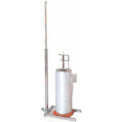 "NAHANCO K31 Poly Bag Dispenser, 31""L x 18""W x74""H, Metal-Chrome, Pkg Qty 1"