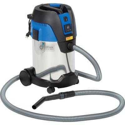 Nilfisk Aero 31 Wet/Dry HEPA Vacuum w/Tool Start, 30 Liter Cap.