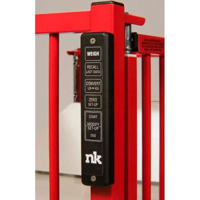 """NK Medical Patient Weighing System NK-30, Built In, For 30"""" X 60"""" Crib"""