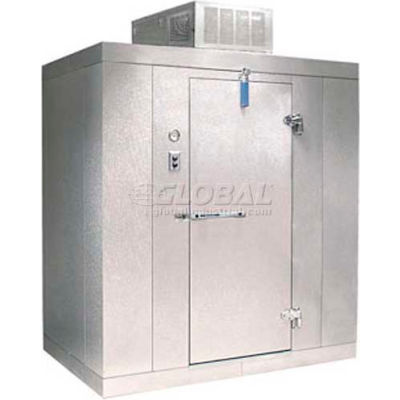 """Nor-Lake Kold Locker - KLB7746-CR Indoor Cooler, +35°F, Floor, RH Door, 48""""W x 72""""D x 91""""H"""