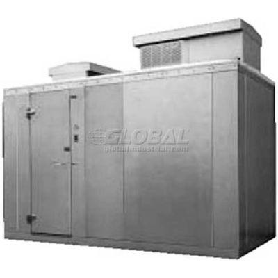 """Nor-Lake Kold Locker - KODB7768-CR Outdoor Cooler, +35°F, Floor, RH Door, 72""""W x 96""""D x 91""""H"""