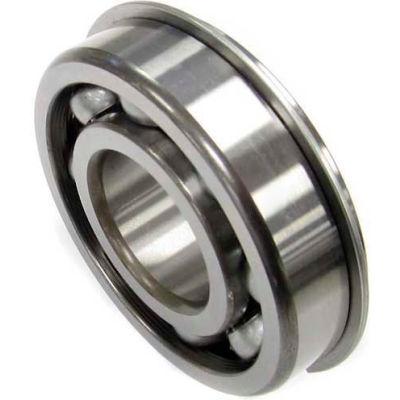 Nachi Radial Ball Bearing 6201nr, Open W/Snap Ring, 12mm Bore, 32mm Od