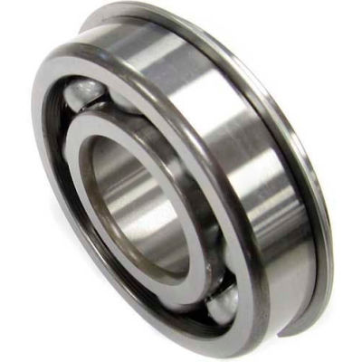 Nachi Radial Ball Bearing 6304nr, Open W/Snap Ring, 20mm Bore, 52mm Od
