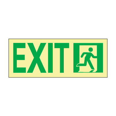 Glow NYC - Sign Exit Right