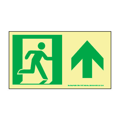 Glow NYC - Directional Sign Forward