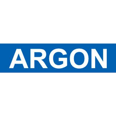 Pressure-Sensitive Pipe Marker - Argon, Pack Of 25