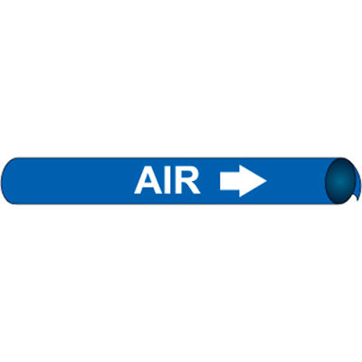 Precoiled and Strap-on Pipe Marker - Air