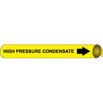 Precoiled and Strap-on Pipe Marker - High Pressure Condensate