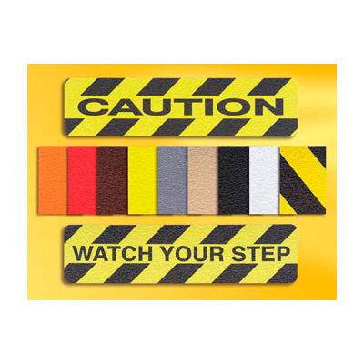"Grit Anti-Slip Tape - Black - 3/4""W, Case of 50"