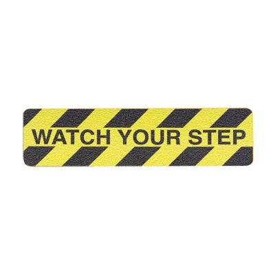 "Grit Anti-Slip Tape - Watch Your Step - 6""W"