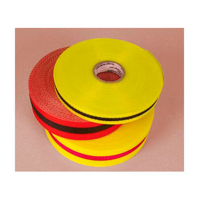 "Webbed Barrier Tape - Black/Yellow - 2""W"