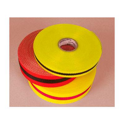"Webbed Barrier Tape - Red/Black - 3/4""W"