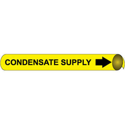 Precoiled and Strap-on Pipe Marker - Condensate Supply