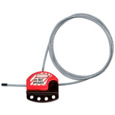 Adjustable Cable Lockout With 6 Foot Cable