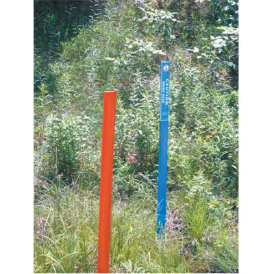 Utility Post - Red