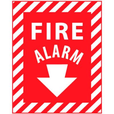 Fire Safety Sign - Fire Alarm - Vinyl