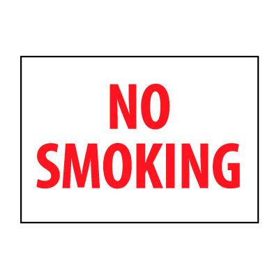 Fire Safety Sign - No Smoking - Vinyl