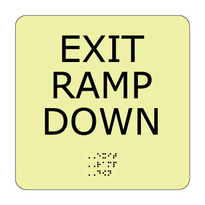 Glow Braille - Exit Ramp Down