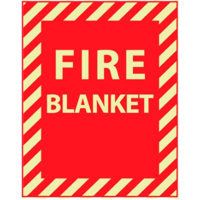 Glow Sign Vinyl - Fire Blanket