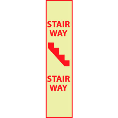 Glow Sign Vinyl - Stairway