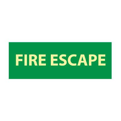Glow Sign Vinyl - Fire Escape