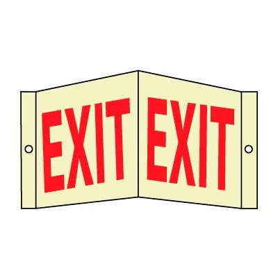 3D Glow Sign Acrylic - 8X14 Exit