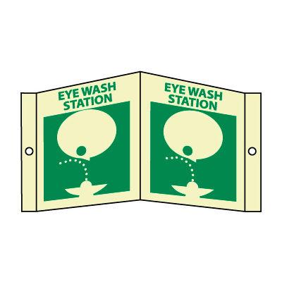 3D Glow Sign Acrylic - Eye Wash Station