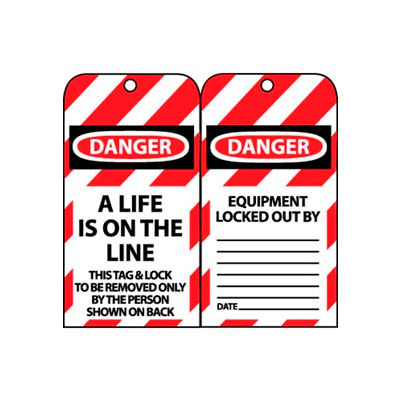 Lockout Tags - A Life Is On The Line