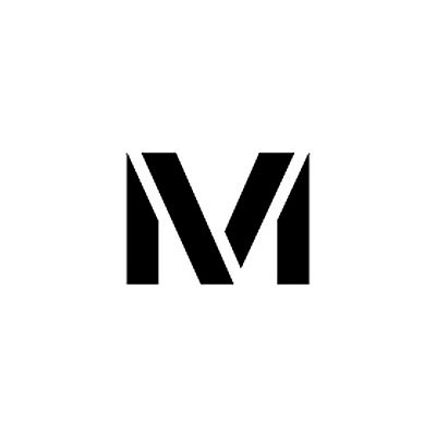 """Individual Character Stencil 36"""" - Letter M"""