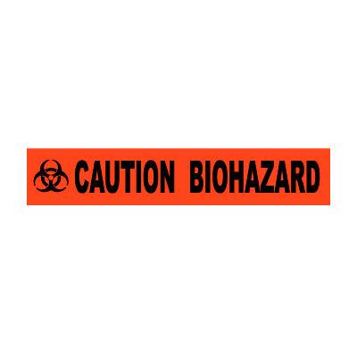 Printed Barricade Tape - Caution Biohazard