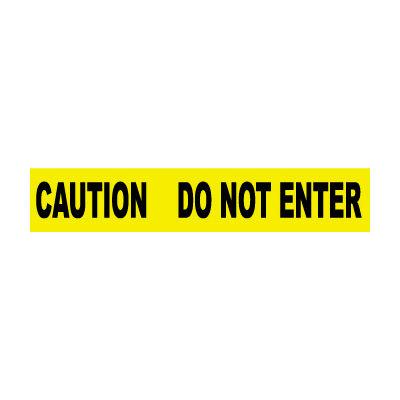 Printed Barricade Tape - Caution Do Not Enter