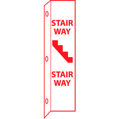 Fire Flange Sign - Stairway