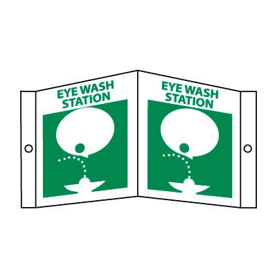 Facility Visi Sign - Eye Wash Station