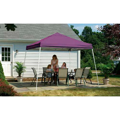 ShelterLogic, 22706, Sport Pop-up Canopy Slant Leg Cover 12 ft. x 12ft. Purple