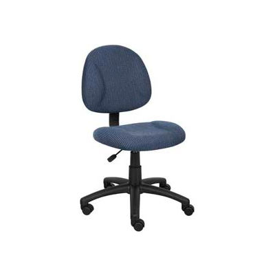Boss Deluxe Posture Chair - Fabric - Blue