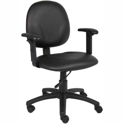 Chairs Vinyl Upholstered Boss Office Task Chair With
