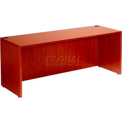 """Boss Desk Shell 48"""" x 24"""", Cherry"""