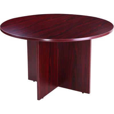 "42"" Round Conference Table - Mahogany"