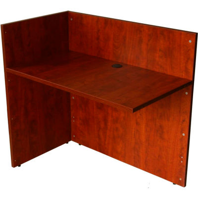 "Boss Reception Desk Return Shell - 42"" - Cherry"