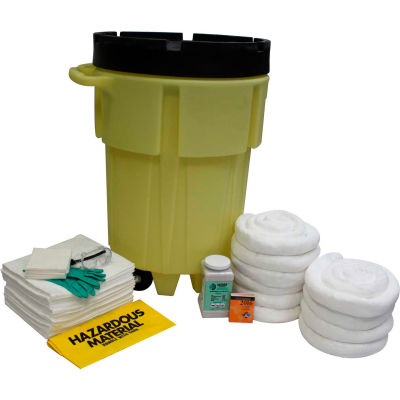 ENPAC® 95 Gallon Wheeled SpillPack Spill Kit, Oil Only, Yellow, 1499-YE