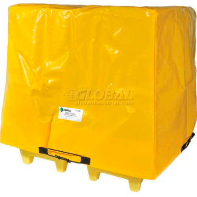 "Enpac HDPE Spill Containment Cover for 4-Drum Poly-Slim-Line 6000, 56-1/2""L x 56-1/2""W x 44""H"