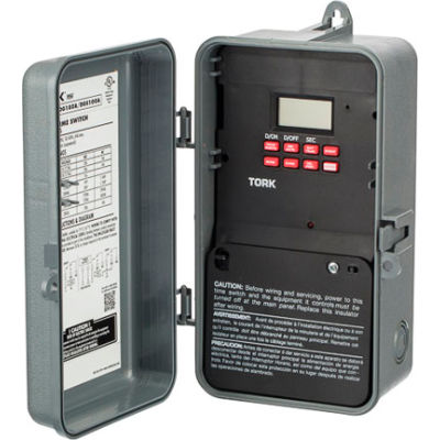 NSI TORK® DG180A  24 Hr Digital Signal/Cycle & Skip Days, 1 Chan, 20A,120-277V, SPDT In/Out Encl