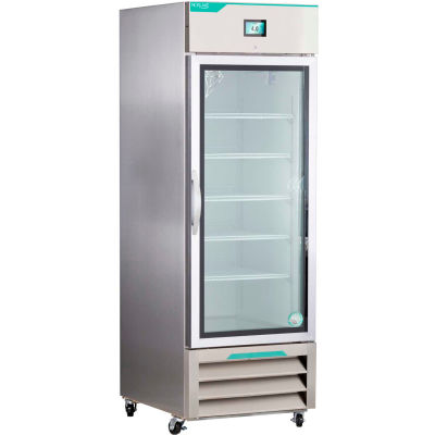 Nor-Lake® NSWDR231SSG/0 White Diamond Series Stainless Steel Glass Door Refrigerator, 23 Cu.Ft.