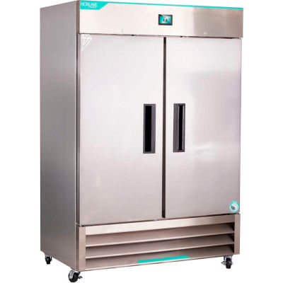 Nor-Lake® NSWDR492SSS/0 White Diamond Series Stainless Steel Solid Door Refrigerator, 49 Cu.Ft.