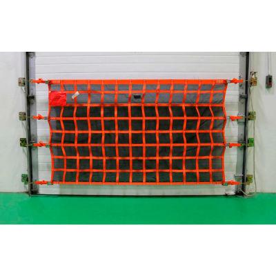 US Netting Loading Dock Safety Net, 4 Feet x 26 Feet, OHPW426-B