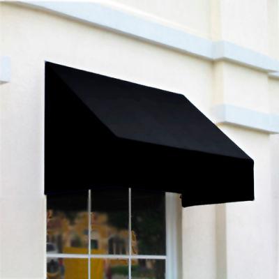 "Awntech CN32-8K, Window/Entry Awning 8' 4-1/2"" W x 2'D x 3' 8""H Black"